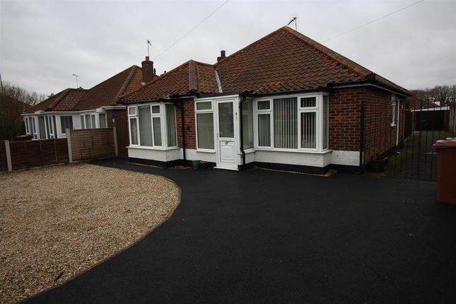 Thumbnail Detached bungalow for sale in Holt Road, Norwich