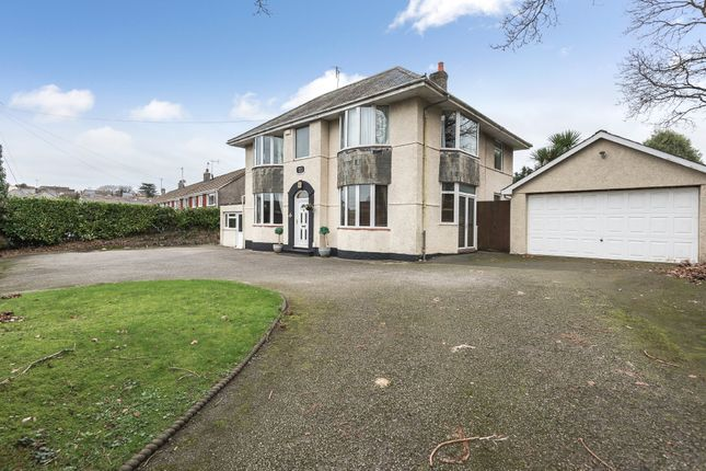 Thumbnail Detached house for sale in Goosewell Road, Plymstock, Plymouth
