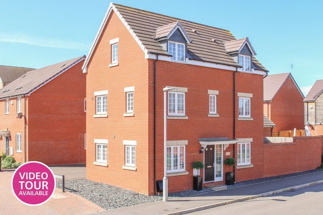 Thumbnail Detached house for sale in Fortuna Mead, Leighton Buzzard