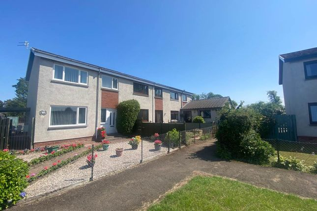 Thumbnail Terraced house to rent in Glebe Drive, Inchture, Perth