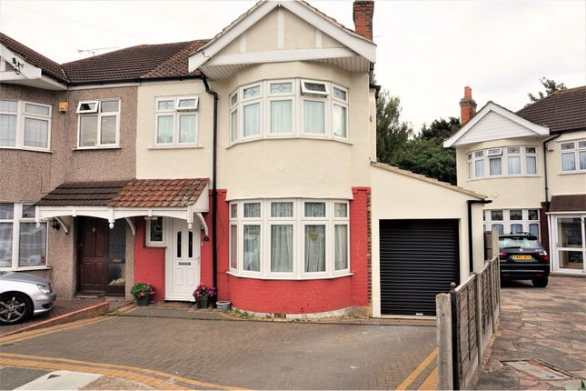 Thumbnail Semi-detached house for sale in Parkside Avenue, Romford