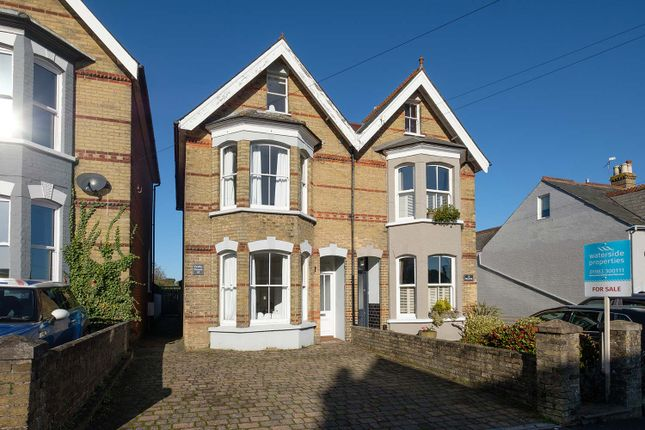 Thumbnail Semi-detached house for sale in Mill Hill Road, Cowes