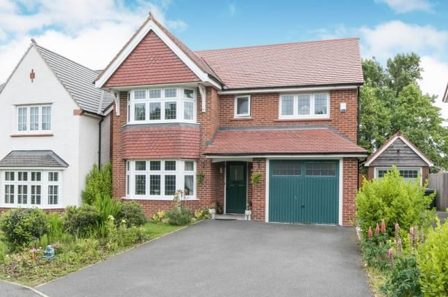 Thumbnail Detached house for sale in Hulme Close, Bromborough, Wirral