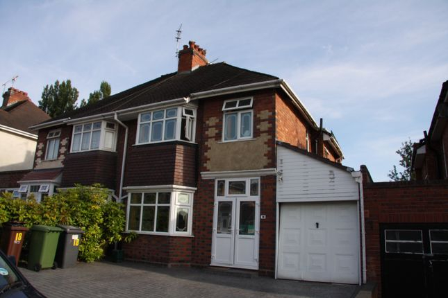 Thumbnail Semi-detached house to rent in Goldthorn Crescent, Penn, Wolverhampton