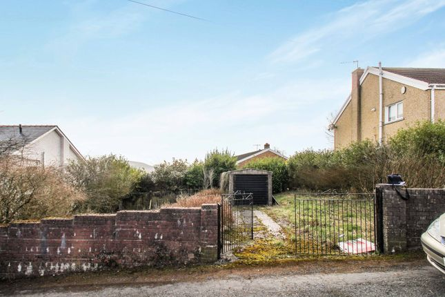 Thumbnail Land for sale in Brynawel, Brynmawr