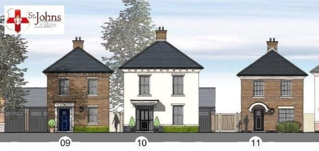 Thumbnail Detached house for sale in St Johns Village, 15 Medland Drive, Bracebridge Heath, Lincoln