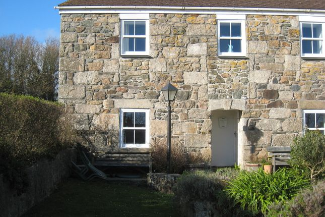 Thumbnail End terrace house to rent in Perranuthnoe, Penzance