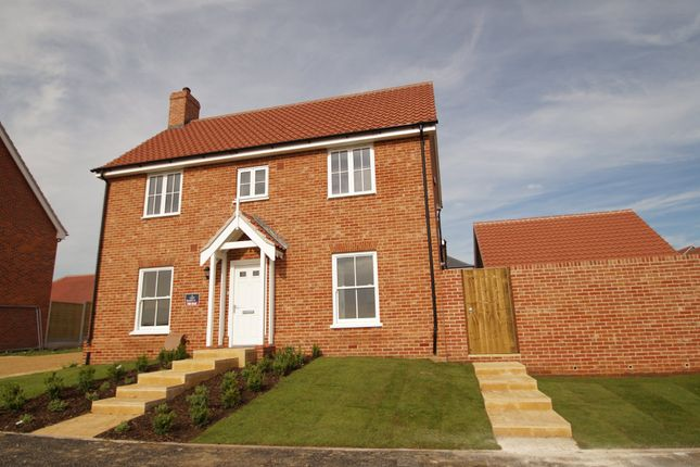Thumbnail Link-detached house for sale in Church Hill, Saxmundham