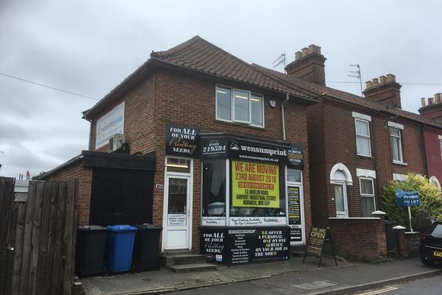Thumbnail Retail premises for sale in 253 Heigham Street, Norwich, Norfolk