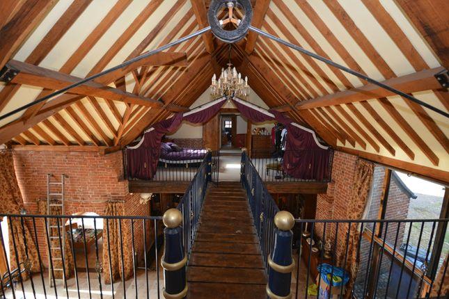 Thumbnail Barn conversion for sale in Church Road, Ellough, Suffolk