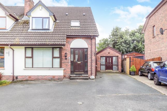 Thumbnail Semi-detached house for sale in The Brambles, Lisburn