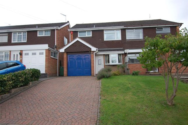 3 bed semi-detached house for sale in Rothesay Drive, Wordsley
