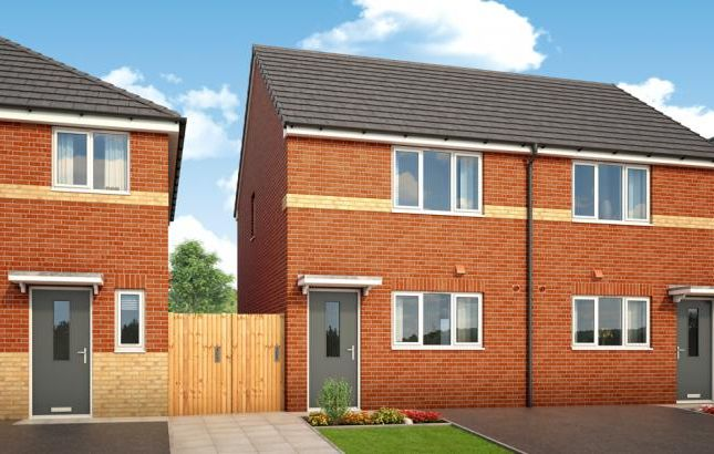 Thumbnail Semi-detached house to rent in Whitebank Road, Limehurst Village, Oldham, Manchester