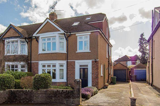 Thumbnail Semi-detached house for sale in Jellicoe Gardens, Heath, Cardiff