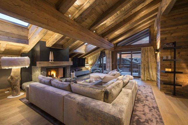Thumbnail Apartment for sale in Duplex Penthouse, Verbier, Valais
