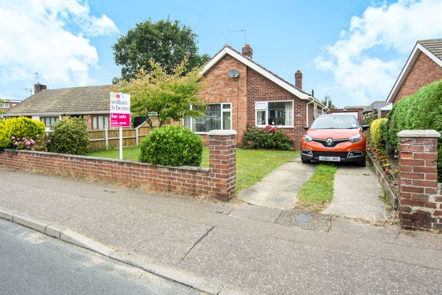 Thumbnail Detached bungalow for sale in Homefield Avenue, Bradwell, Great Yarmouth