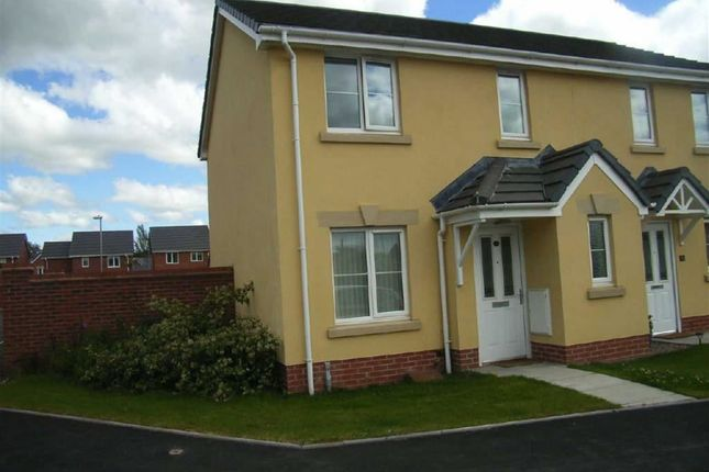 Thumbnail Semi-detached house to rent in Parc Hafod, Four Crosses, Llanymynech