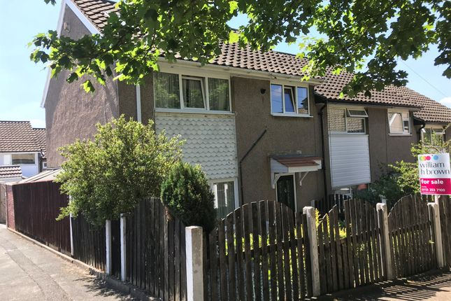 Thumbnail End terrace house for sale in Bodmin Gardens, Leeds