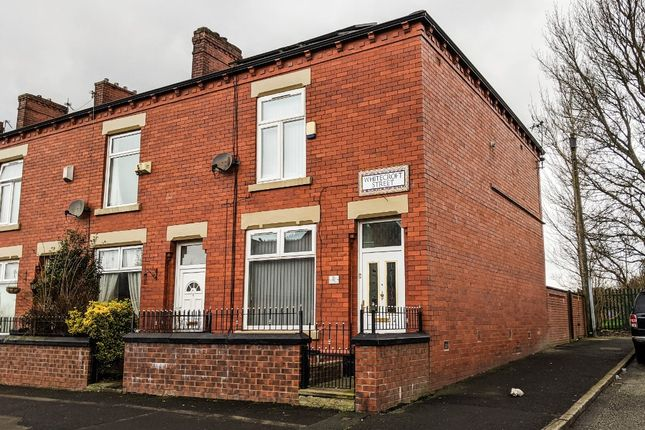 Thumbnail End terrace house to rent in Whitecroft Street, Watersheddings, Oldham