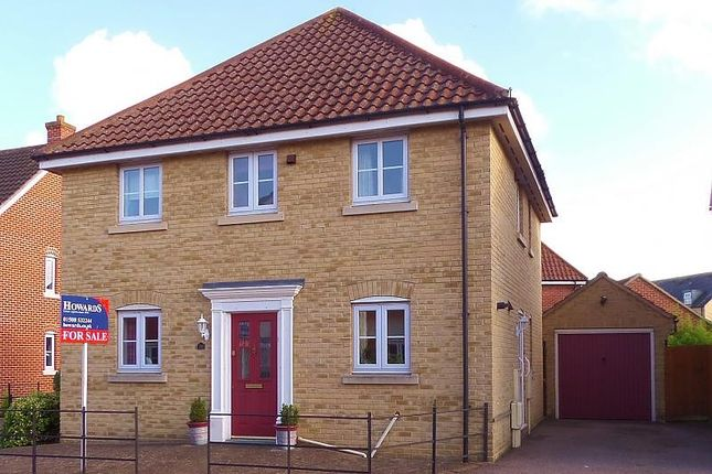 Thumbnail Detached house for sale in Field Acre Way, Long Stratton