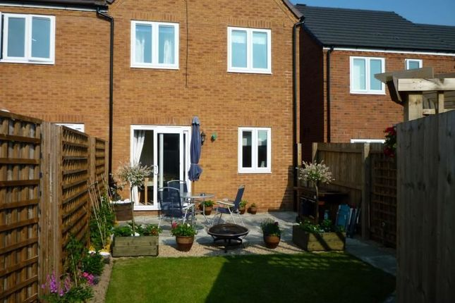 Thumbnail Semi-detached house to rent in Mandir Close, Oswestry