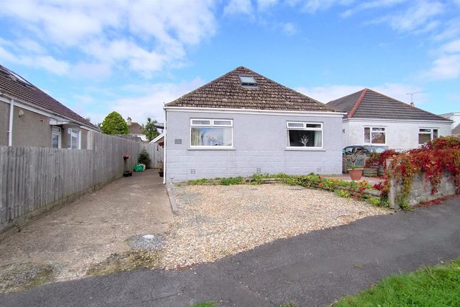 Thumbnail Detached bungalow for sale in Belvedere Close, Kittle, Swansea