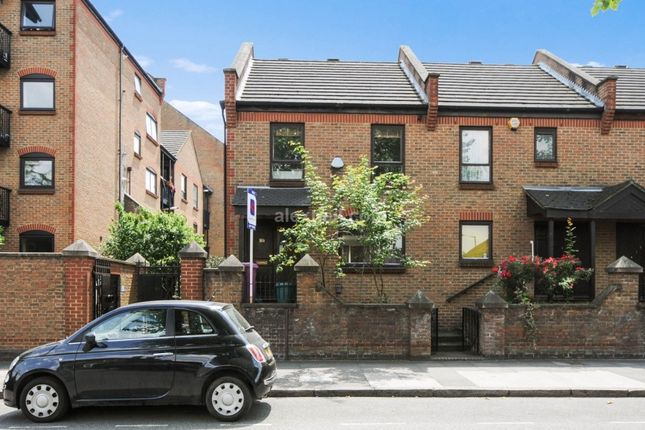 Thumbnail Terraced house to rent in Manchester Road, London