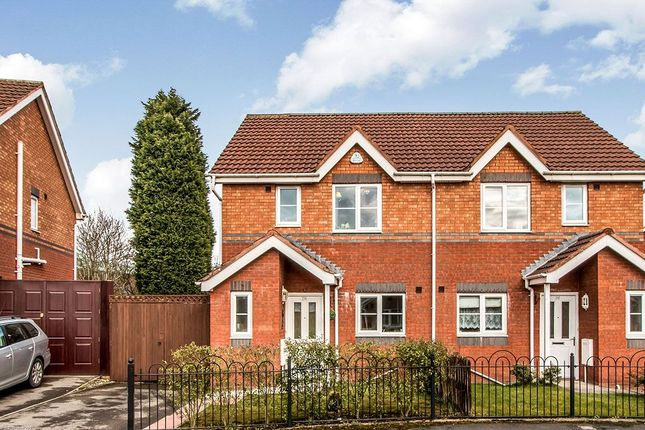 Thumbnail Semi-detached house for sale in Collin Avenue, Manchester