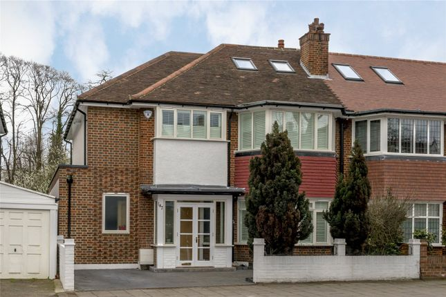 4 bed semi-detached house to rent in Mortlake Road, Kew, Surrey TW9