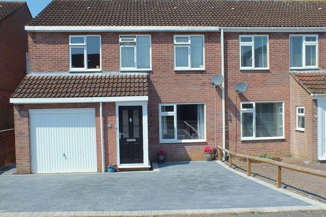 Thumbnail Semi-detached house for sale in Sunderland Close, Melksham, Wiltshire.