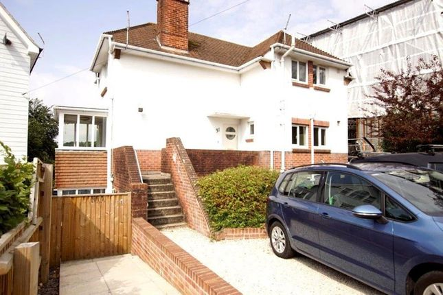Thumbnail Flat for sale in Harbour View Road, Lower Parkstone, Poole