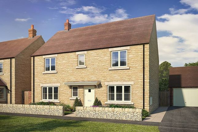 "Thumbnail Detached house for sale in ""The Gloucester With Garden Room_Meadows"" at Todenham Road, Moreton-In-Marsh"