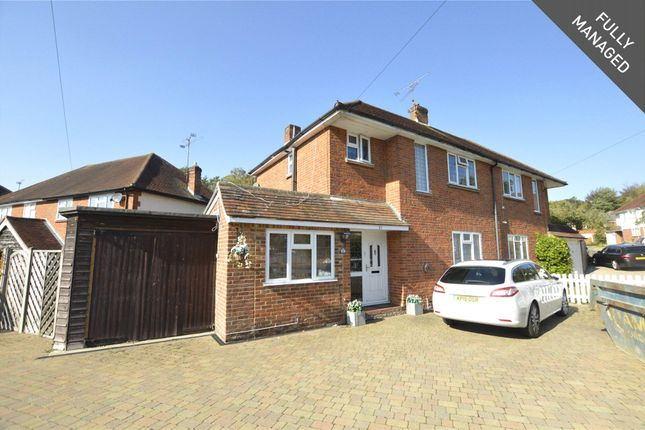Thumbnail Semi-detached house to rent in Old Pasture Road, Frimley, Camberley, Surrey