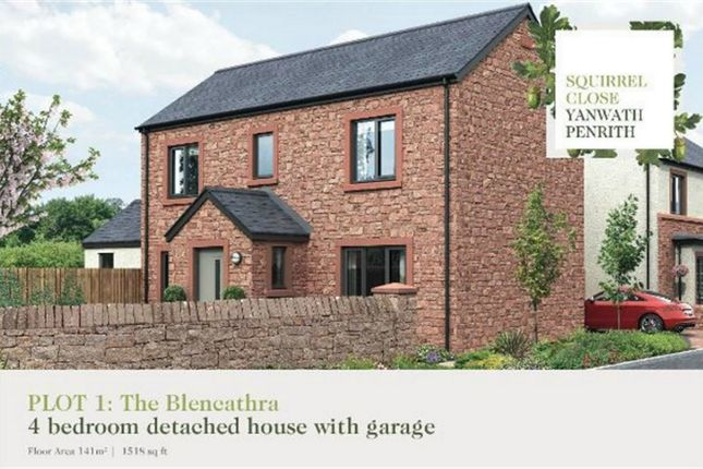 Thumbnail Detached house for sale in Plot 1 Squirrel Close, Yanwath, Penrith