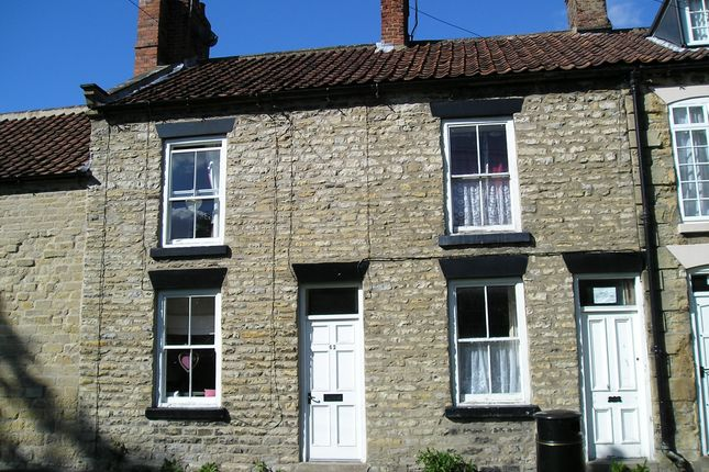Thumbnail Terraced house to rent in Eastgate, Pickering