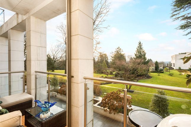 Private Balcony of Charters Garden House, Charters Road, Sunninghill, Berkshire SL5