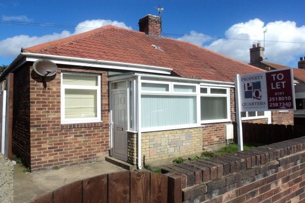 Thumbnail Bungalow to rent in Plessey Road, Blyth