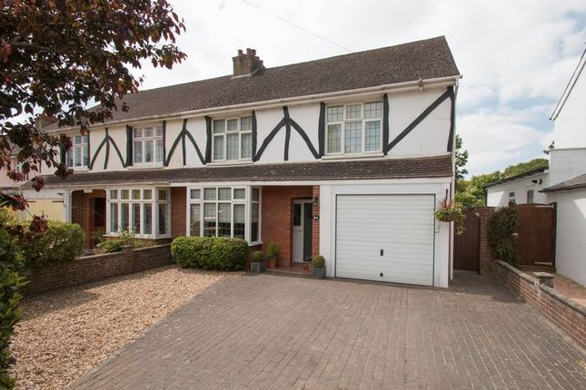 Thumbnail Semi-detached house for sale in Broyle Road, Chichester