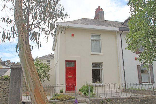 Thumbnail End terrace house for sale in Portland Road, Stoke, Plymouth