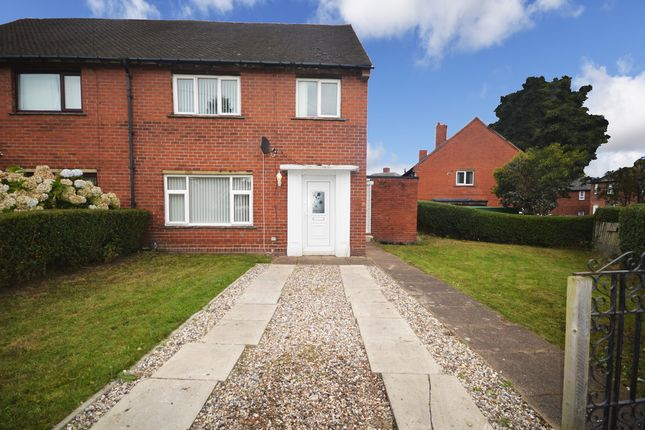 Thumbnail Semi-detached house for sale in Cross Road, Thornhill Edge, Dewsbury