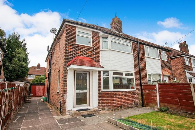 Thumbnail Semi-detached house for sale in Riverton Road, Didsbury, Manchester