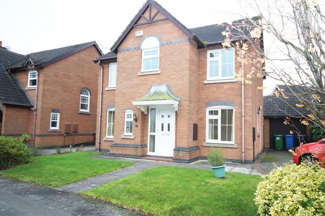 Thumbnail Detached house to rent in Farnham Close, Appleton, Warrington