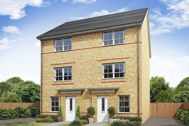 """Thumbnail Semi-detached house for sale in """"Haversham"""" at Mount Street, Barrowby Road, Grantham"""