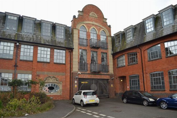 Thumbnail Flat for sale in Webbs Factory, Brockton Street, Northampton