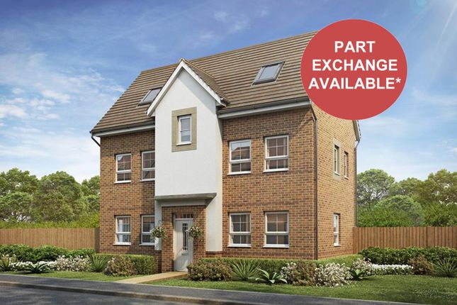 """Thumbnail Detached house for sale in """"Hesketh"""" at Woodcock Square, Mickleover, Derby"""