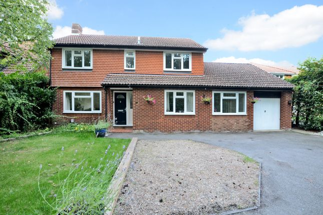 Thumbnail Detached house for sale in Marshall Close, Frimley, Camberley