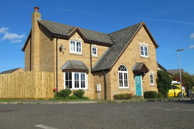 Thumbnail Detached house for sale in Hillfield Road, Oundle, Peterborough