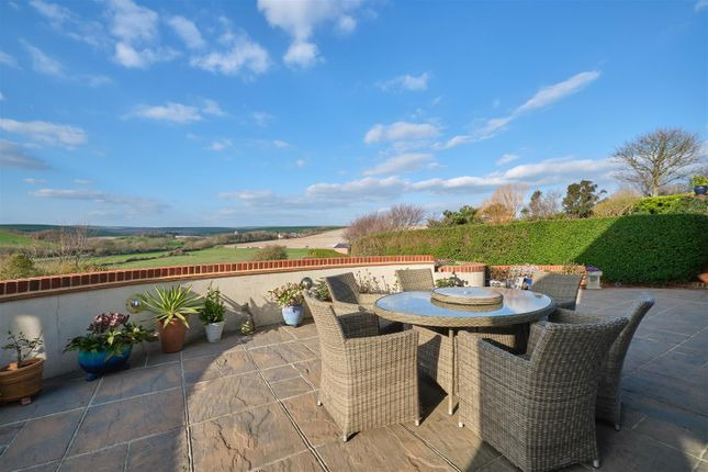 Patio & View of Hill Rise, Seaford BN25