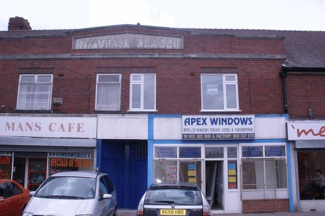 Thumbnail Flat to rent in Flat Above College Road, Kingstanding, Birmingham
