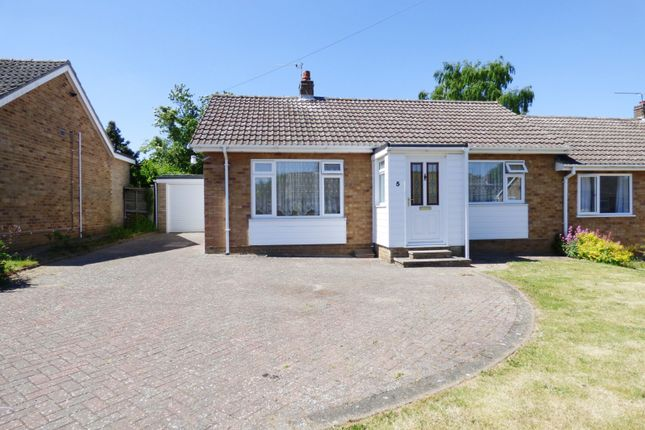 Thumbnail Bungalow for sale in Cavell Close, Swardeston